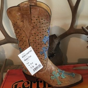 Ferrini Shoes - Cowgirl Leather Boots